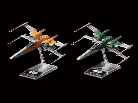 Bandai Star Wars 1 144 Scale Poe S X Wing Fighter X Wing Fighter R4lus
