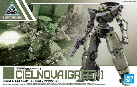 30MM 1/144 bEXM-14T Cielnova [Green]