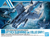 30MM 1/144 Extended Armament Vehicle (Attack Submarine Ver.) [Blue Gray]