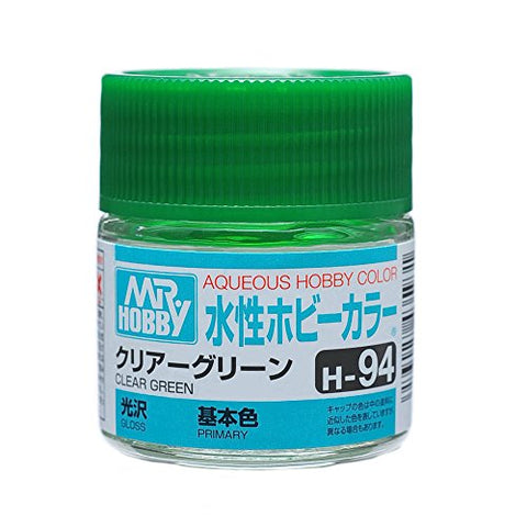 Aqueous Hobby Color - H94 Gloss Clear Green (Primary)