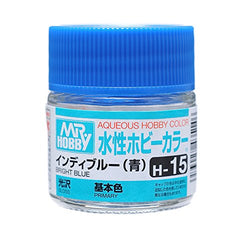 Aqueous Hobby Color -  H15 Gloss Bright Blue (Primary)