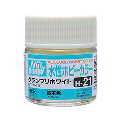 Aqueous Hobby Color - H21 Gloss Off White (Primary)
