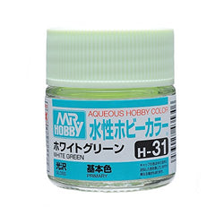 Aqueous Hobby Color - H31 Gloss White Green (Primary)