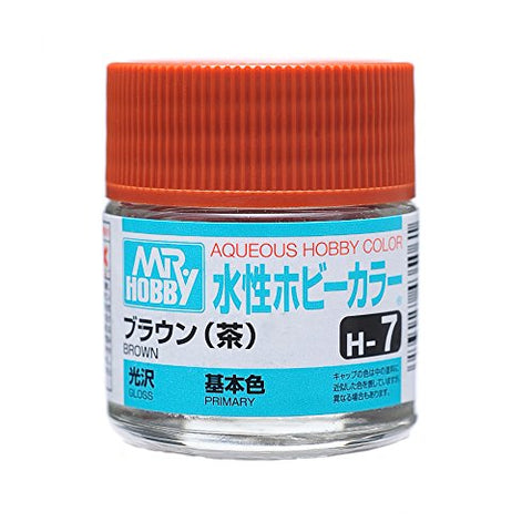 Aqueous Hobby Color - H7 Gloss Brown (Primary)