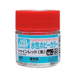 Aqueous Hobby Color - H23 Gloss Shine Red (Primary)
