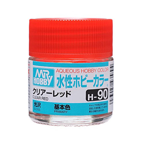 Aqueous Hobby Color - H90 Gloss Clear Red (Primary)