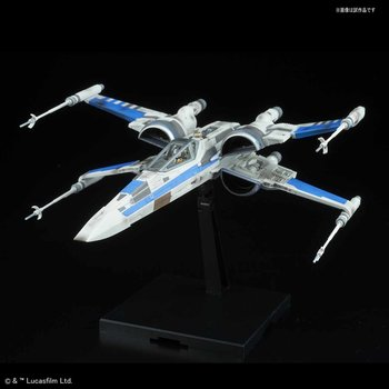 Bandai Star Wars 1/72 Scale - Blue Squadron Resistance X-Wing Fighter