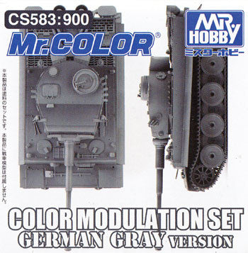 Mr. Color - Color Modulation Set German Gray