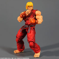 Super Street Fighter IV Play Arts Kai Ken Masters