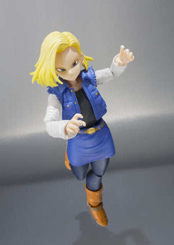 Bandai Tamashii Nations S.H.Figuarts Android 18 Dragon Ball Z Action Figure