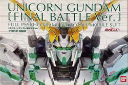 P-Bandai PG 1/160 Unicorn Final Battle Ver.