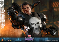 The Punisher War Machine Armor Sixth Scale Figure by Hot Toys