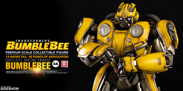 Bumblebee Premium Scale Die-Cast Collectible Figure - Transformers: Bumblebee (ThreeA)