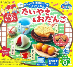 Popin Cookin Happy Kitchen: Taiyak and Odango