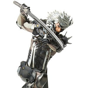 Menshdge Technical Statue No.33 Metal Gear Solid Rising Revengeance Raiden
