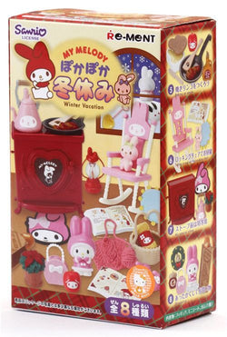 My Melody Winter Holiday RE-MENT