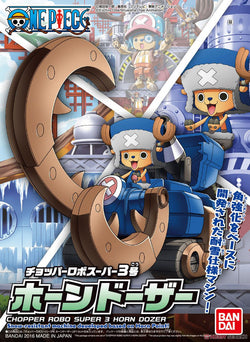 [ONE PIECE] Chopper Robo Super 3 Horn Dozer