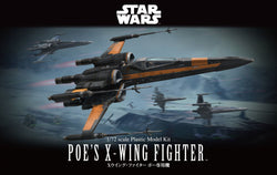 Bandai Star Wars 1/72 Scale - Poe's X-Wing Fighter