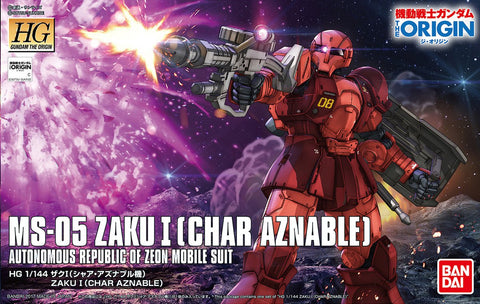 MS-05 Zaku I [Char Aznable] HG 1/144