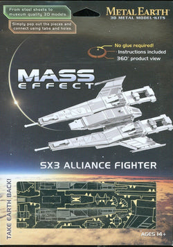 Metal Earth: SX3 Alliance Fighter