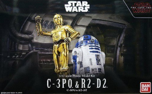 Bandai Star Wars 1/12 Scale - C-3PO & R2-D2