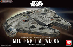 Bandai Star Wars 1/144 Scale - Millennium Falcon (The Force Awakens)