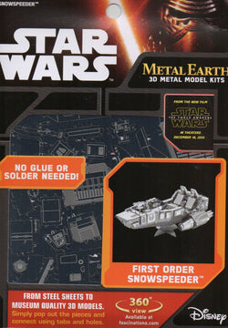 Metal Earth: First Order Snowspeeder