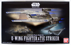 Bandai Star Wars 1/144 Scale - U-Wing Fighter & Tie Striker