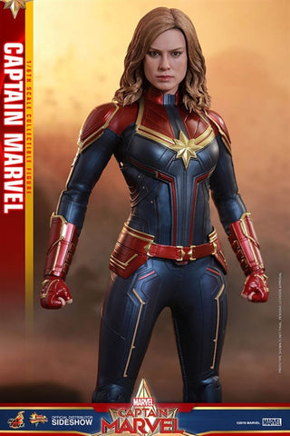 Captain Marvel - Marvel's Captain Marvel- Sixth Scale Figure by Hot Toys