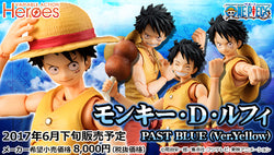 Monkey D Luffy: Past Blue (Ver. Yellow)