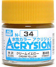 #34 Acrysion : Cream Yellow
