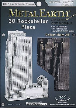 Metal Earth: 30 Rockefeller Plaza