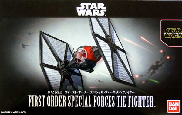 Bandai Star Wars 1/12 Scale - First Order Special Forces Tie Fighter