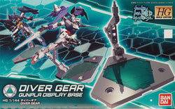 HGBD 1/144 Diver Gear - GunPla Display Base
