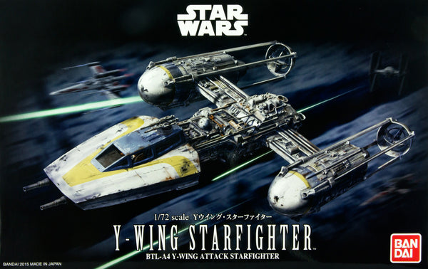 Pre-Order Star Wars: Y-Wing Starfighter 1/72