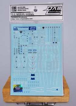 HiRes Water Slide Decal - RG 1/144 00 Qan[T]