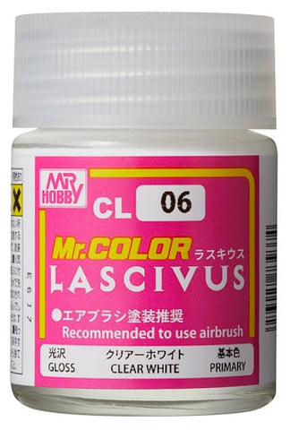 Mr. Color - CL06 LASCIVUS Gloss Clear White
