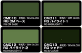Mr. Color - Color Modulation Set Russian Green