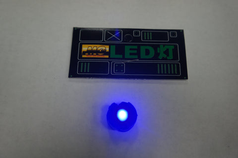 BLUE LED Unit for MG w/ 2 Batteries (1 pc)