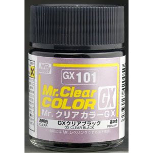 Mr. Color GX 101 Clear Black