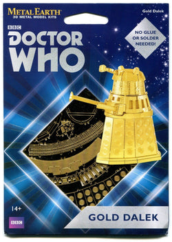 Gold Dalek Doctor Who GOLD