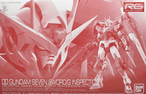 P-Bandai RG 1/144 00 Seven Sword/G Inspection