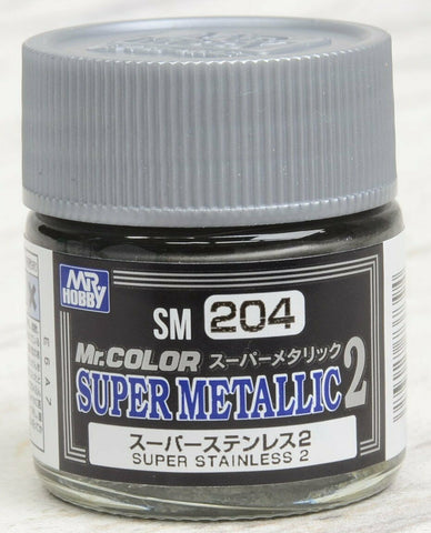 Mr Color Super Metallic - Super Stainless Steel 2