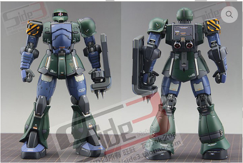Side 3 Resin Kit- Zaku I 1/100 MG
