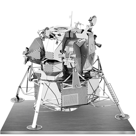 Apollo Lunar Module 3D Laser Cut Model