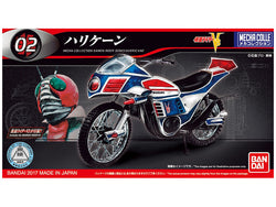 Mecha Collection 02 - Kamen Rider - Hurricane