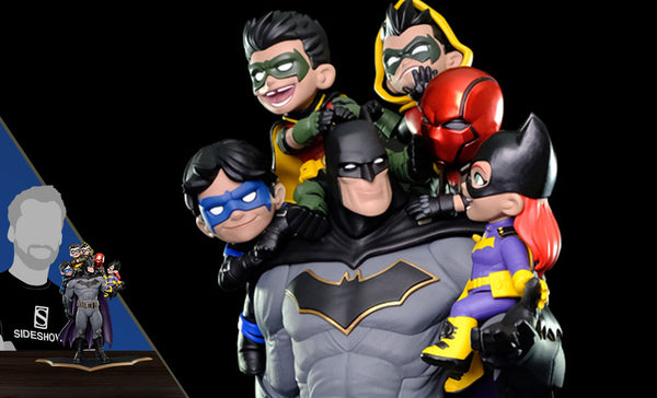"Batman ""Family"" Q-Master Diorama by Quantum Mechanix"