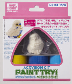 Acrysion Kit Paint Try! *Budgerigar*