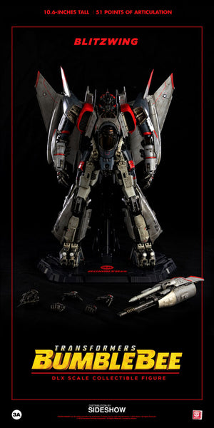 Blitzwing Collectible Figure Bumblebee Movie (ThreeA Toys) (Display Item)