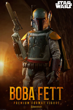 Boba Fett Premium Format - Star Wars: Return of the Jedi (Sideshow Collectibles)